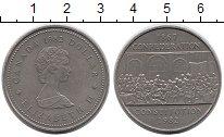 Изображение Монеты Северная Америка Канада 1 доллар 1982 Медно-никель XF