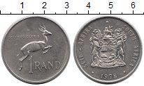 Изображение Монеты Африка ЮАР 1 ранд 1978 Медно-никель XF