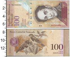 Изображение Банкноты Венесуэла 100 боливар 2013  UNC