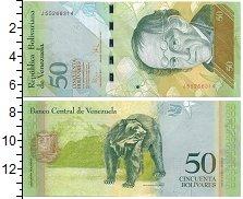Изображение Банкноты Венесуэла 50 боливар 2009  UNC