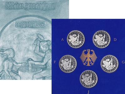 Изображение Подарочные монеты Германия Вестфальский мир 1998 Серебро Proof