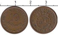 Изображение Монеты Португалия Португальская Индия 10 сентаво 1958 Бронза XF