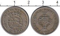 Изображение Монеты Африка Ангола 2 1/2 эскудо 1967 Медно-никель XF