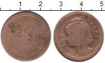 Изображение Монеты Кабо-Верде 20 сентаво 1930 Бронза VF