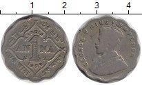 Изображение Монеты Индия 1 анна 1929 Медно-никель VF