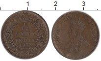 Изображение Монеты Азия Индия 1/12 анны 1933 Бронза XF