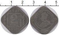 Изображение Монеты Индия 2 анны 1919 Медно-никель VF Георг V