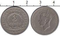 Изображение Монеты Западная Африка 3 пенса 1939 Медно-никель VF