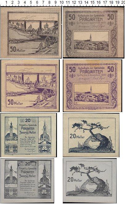 Изображение Банкноты Европа Австрия Набор из 4 ногельдов 1920  UNC-