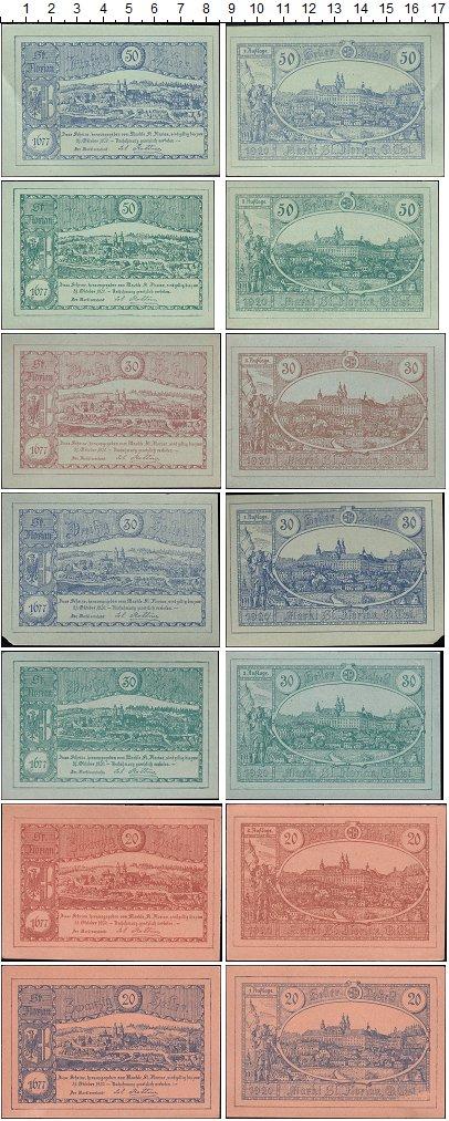 Изображение Банкноты Европа Австрия Набор из 7 нотгельдов 1920  XF