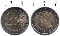 Изображение Монеты Европа Греция 2 евро 2013 Биметалл UNC-