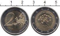 Изображение Монеты Словения 2 евро 2010 Биметалл UNC-