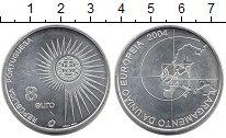 Изображение Монеты Европа Португалия 8 евро 2004 Серебро UNC