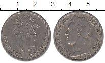 Изображение Монеты Бельгия Бельгийское Конго 1 франк 1924 Медно-никель XF-
