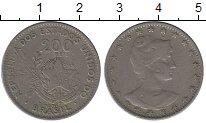 Изображение Монеты Южная Америка Бразилия 200 рейс 1901 Медно-никель VF