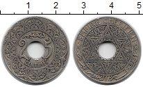 Изображение Монеты Африка Марокко 25 сантим 1924 Медно-никель XF