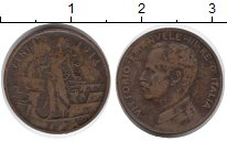 Изображение Монеты Италия 1 сентесимо 1914 Бронза XF