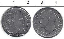 Изображение Монеты Италия 20 сентесим 1941 Медно-никель XF Виктор Эммануил III