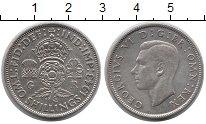 Изображение Монеты Европа Великобритания 2 шиллинга 1943 Серебро XF