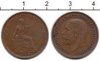 Изображение Монеты Европа Великобритания 1 фартинг 1936 Бронза XF