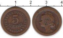 Изображение Монеты Европа Португалия 5 сентаво 1924 Бронза XF