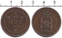Изображение Монеты Европа Швеция 5 эре 1878 Бронза XF-