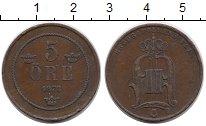 Изображение Монеты Европа Швеция 5 эре 1878 Бронза XF