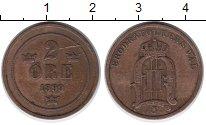 Изображение Монеты Европа Швеция 2 эре 1899 Бронза XF