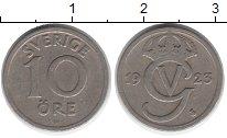 Изображение Монеты Швеция 10 эре 1923 Медно-никель XF Густав V