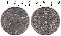 Изображение Монеты Европа Великобритания 25 пенсов 1977 Медно-никель UNC-