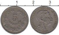 Изображение Монеты Люксембург 5 сантим 1901 Медно-никель XF