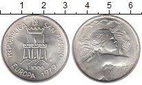 Изображение Монеты Сан-Марино 1000 лир 1979 Серебро UNC-