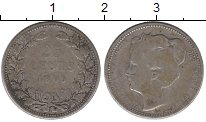 Изображение Монеты Нидерланды 25 центов 1905 Серебро VF