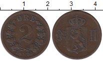 Изображение Монеты Европа Норвегия 2 эре 1899 Бронза XF-
