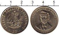 Изображение Монеты Гаити 20 сантим 1991 Медно-никель UNC-