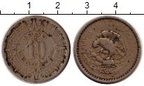 Изображение Монеты Мексика 10 сентаво 1936 Медно-никель VF