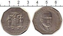 Изображение Монеты Ямайка 50 центов 1989 Медно-никель XF