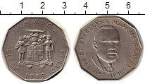 Изображение Монеты Северная Америка Ямайка 50 центов 1989 Медно-никель XF