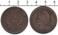 Изображение Монеты Южная Америка Аргентина 2 сентаво 1884 Бронза XF