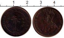Изображение Монеты Цейлон 1 цент 1914 Бронза VF Георг V