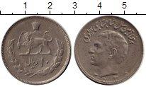 Изображение Монеты Иран 10 риалов 1976 Медно-никель XF