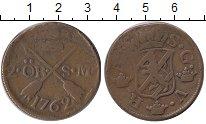 Изображение Монеты Европа Швеция 2 эре 1762 Медь VF