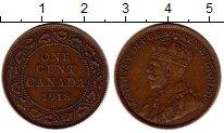 Изображение Монеты Северная Америка Канада 1 цент 1918 Бронза XF