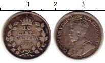 Изображение Монеты Канада 10 центов 1918 Серебро XF- Георг V