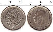 Изображение Монеты Швеция 1 крона 1946 Серебро XF