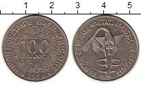 Изображение Монеты Западная Африка 100 франков 1996 Медно-никель XF