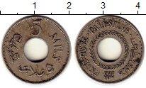 Изображение Монеты Азия Палестина 5 милс 1927 Медно-никель XF