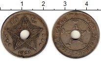 Изображение Монеты Бельгия Бельгийское Конго 10 сантим 1921 Медно-никель XF