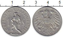 Изображение Монеты Европа Австрия 1 шиллинг 1947 Алюминий XF