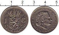 Изображение Монеты Нидерланды 1 гульден 1967 Медно-никель XF